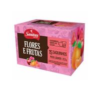 flores e frutas, 15 sachês