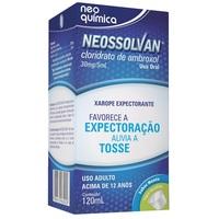 Neossolvan 6mg/mL, caixa com 1 frasco com 120mL de xarope + copo medidor