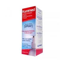 Kuramed 20mg/mL + 1,30mg/mL, frasco spray com 50mL de solução de uso dermatológico