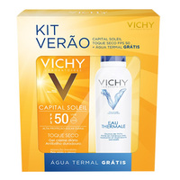 FPS 50, sem cor, 50g + grátis, água termal Vichy, 50mL