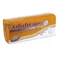 Absorvente Geriátrico Adultcare Premium tamanho único com 20 unidades