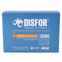 Disfor caixa com 30 sachês de pó para solução oral, sabor laranja