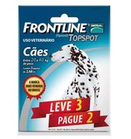 Frontline Topspot para Cães de 20Kg até 40Kg com 3 pipetas de 2,68mL
