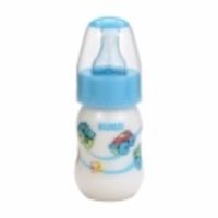 Mamadeira Kuka Natural Plus color, 0 a 6 meses, 70mL, azul