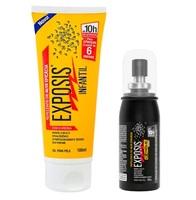 gel, 100mL + repelente Extreme Exposis, spray, 40mL