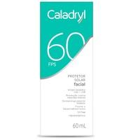 Protetor Solar Facial Caladryl FPS60, 60mL