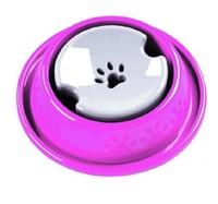 Bebedouro Pet Injet para cães de pelos longos, rosa