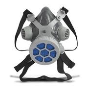 Respirador 1/4 Facial Alltec Mastt 2001 PO uma via, tamanho único