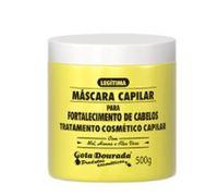 Máscara Capilar Gota Dourada Fortalecimento de Cabelos 500g