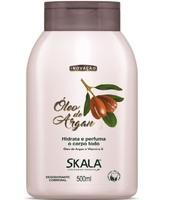 Hidratante Corporal Skala Colágeno Vegetal óleo de argan com 500mL