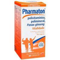 Pharmaton caixa com 60 cápsulas gelatinosas moles