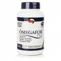 Ômegafor Plus frasco com 120 cápsulas