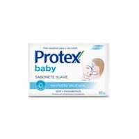 Sabonete Protex Baby proteção delicada, barra, 1 unidade com 85g