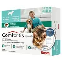 560mg, cães de 9 a 18Kg + gatos de 5,4 a 11Kg, caixa com 1 comprimido mastigável