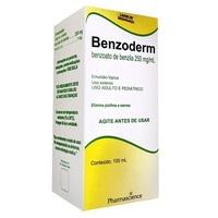 0,25g/mL, caixa com 1 frasco com 100mL de emulsão de uso dermatológico