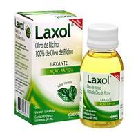 Laxol 100%, caixa com 1 frasco com 60mL de solução de uso oral