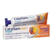 Cataflampro Emulgel 11,6mg/g, caixa com 1 tubo com 150g de gel de uso dermatológico