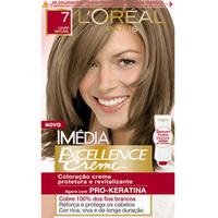 Tintura L'Oréal Imédia Excellence Creme nº 7 louro natural