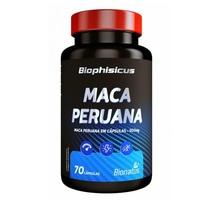Maca Peruana Biophisicus 500mg, frasco com 70 cápsulas