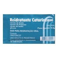 Reidratante - Catarinense Pharma envelope com 8,5g de pó para solução de uso oral