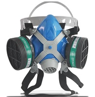Respirador Semi Facial Alltec Mastt 2402 A duas vias, tamanho único