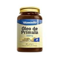 Óleo de Prímula VitaminLife - 500mg, frasco com 45 cápsulas