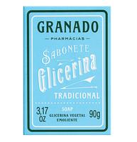 Sabonete Granado Glicerina tradicional, barra, 1 unidade com 90g