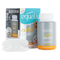 Equaliv Nutri Silver frasco com 60 cápsulas
