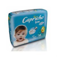 Fralda Capricho Bummis M, pacote com 70 unidades