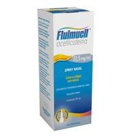 Fluimucil Solução Nasal 11,5mg/mL, caixa com 1 frasco com 20mL de solução de uso nasal + micronebulizador