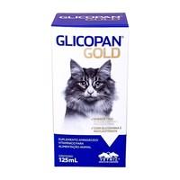 Glicopan Gold frasco com 125mL de solução de uso oral