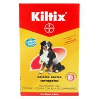 Coleira Kiltix Contra Carrapatos para Cães acima de 20kg com 45g, 65cm de comprimento, 1 unidade