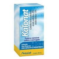 Frasco com 10mL de solução de uso dermatológico