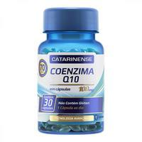 Coenzima Q10 Catarinense 100mg, frasco com 30 cápsulas