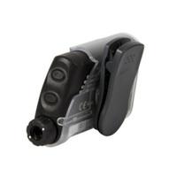 Capa para Bomba de Insulina Accu-Chek Spirit silicone, com clip, preto, 1 unidade