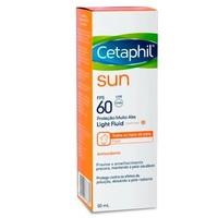 Protetor Solar Facial Cetaphil Sun Light Fluid com cor, FPS 60, 50mL