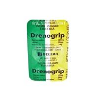 Drenogrip 500mg + 30mg + 2mg, blíster com 6 comprimidos