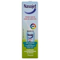 0,9%, frasco spray com 100mL de solução de uso nasal, jato contínuo