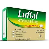 Luftal 40mg, caixa com 20 comprimidos
