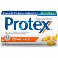 Sabonete Antibacteriano Protex Vitamina E barra, 1 unidade com 85g