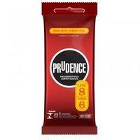 Preservativo Prudence lubrificado, leve 8 pague 6