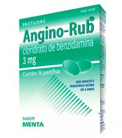 3mg, caixa com 16 pastilhas, menta