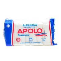 Algodão Multiuso Sanfonado Apolo