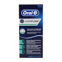 Fio Dental Oral-B Super Floss - 50 unidades