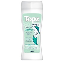 Sabonete Íntimo Topz natural fresh, 200mL