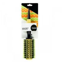Escova de Cabelo Térmica Triss 33mm, amarelo