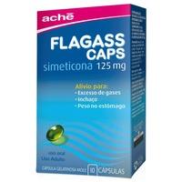 Flagass Caps 125mg, caixa com 10 cápsulas gelatinosas moles