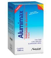 Alumimax 60mg/mL, caixa com 1 frasco com 150mL de solução de uso oral