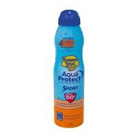 Protetor Solar Banana Boat Aqua Protect Sport aerosol, FPS 50 com 170g