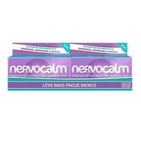 Nervocalm 250mg, kit com 2 caixas com 60 comprimidos